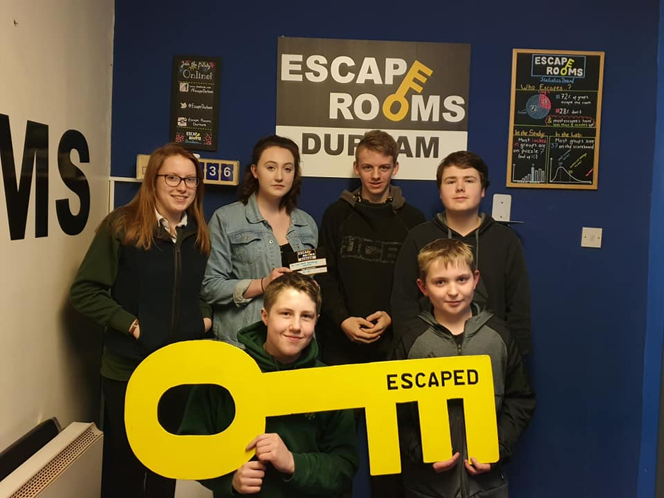Escape Rooms March 2018